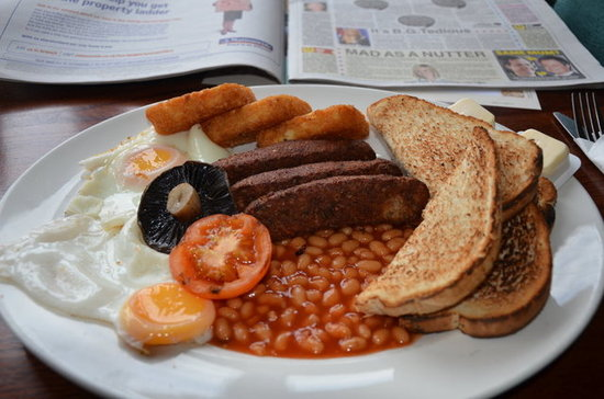 England: Full English Breakfast