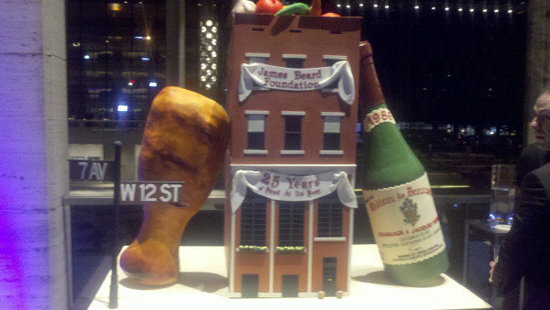 James Beard House — Err, Cake