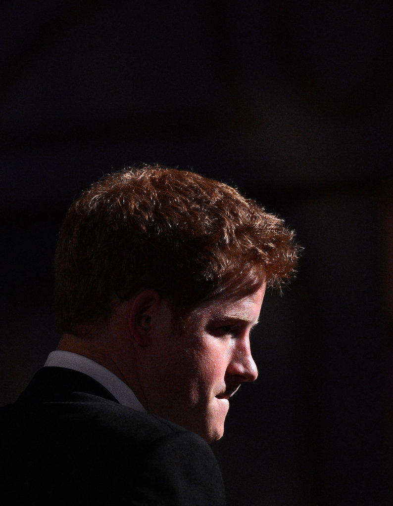 Prince Harry was in Washington DC to accept the Distinguished Humanitarian Leadership Award.