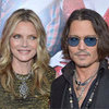 Johnny Depp at LA Dark Shadows Premiere Pictures