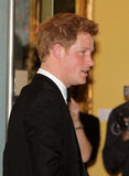 Prince Harry wore a tux in Washington DC to attend a gala hosted by the Atlantic Council where he accepted the Distinguished Humanitarian Leadership Award.