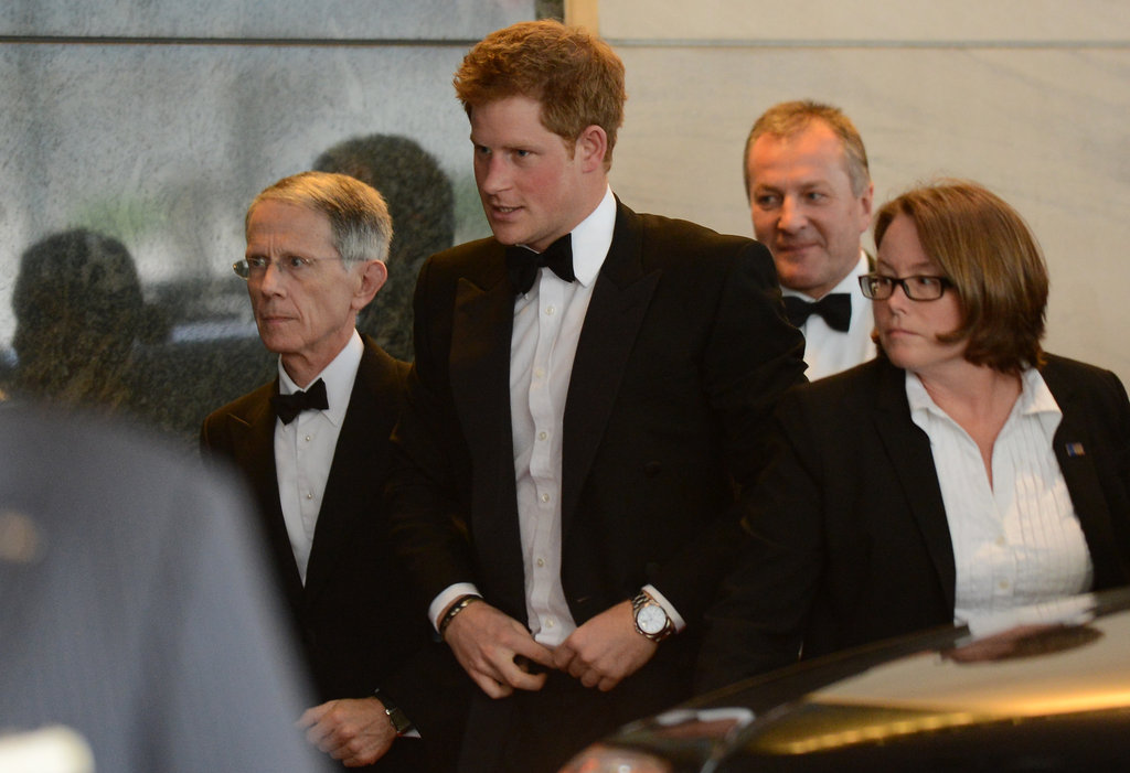 Prince Harry traveled to Washington DC to attend a gala hosted by the Atlantic Council where he accepted the Distinguished Humanitarian Leadership Award.
