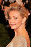 Cameron Diaz smiled at the Met Gala.