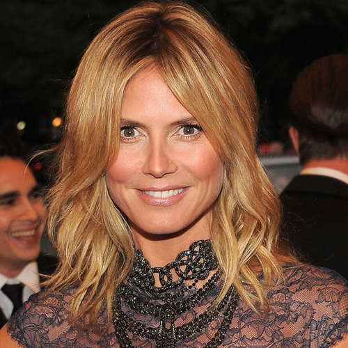 Heidi Klum's Beauty Look at the 2012 Met Costume Institute Gala