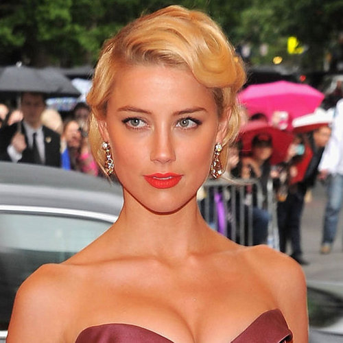 Amber Heard's Beauty Look at the 2012 Met Costume Institute Gala