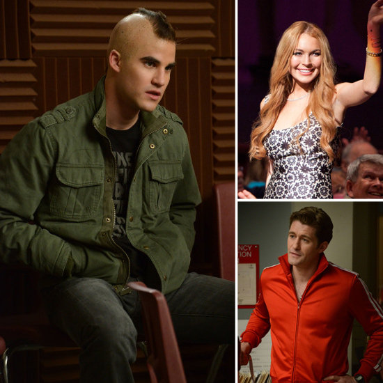 Get a Glimpse of Lindsay Lohan on Glee and See the New Directions Swap Identities