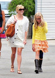 Reese Witherspoon and her daughter Ava Phillippe attended Easter Sunday church services together in April 2012 in LA.