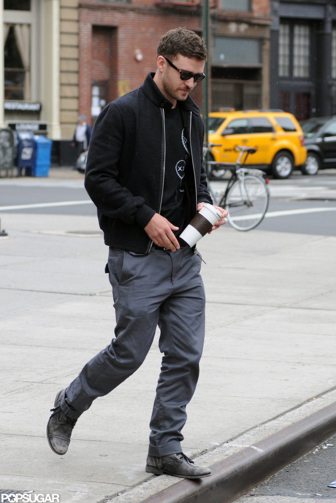 Justin Timberlake took a stroll on the NYC streets.