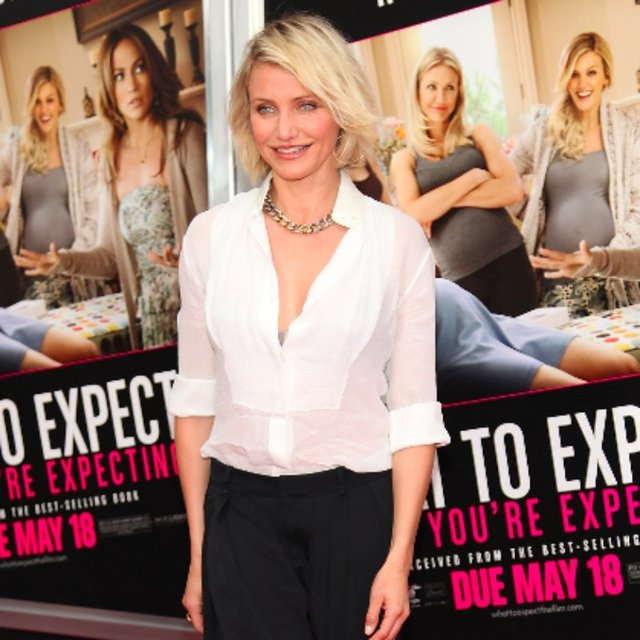 Cameron Diaz What to Expect When You're Expecting Pictures