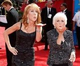 Kathy Griffin and her mum, Maggie, struck a pose together on the red carpet in August 2010.