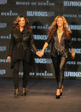 Beyoncé Knowles and her mom, Tina, walked the runway together at the September 2011 launch of their collection line, House of Dereon.