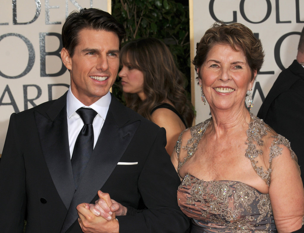 Tom Cruise brought his mum, Mary, as his date to the January 2011 Golden Globe Awards.