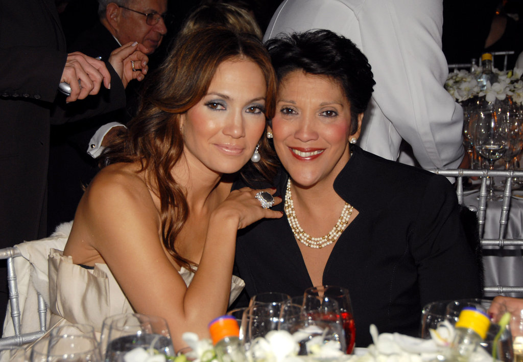 Jennifer Lopez brought her mum, Guadalupe, to the 10th Annual ACE Awards in October 2006.
