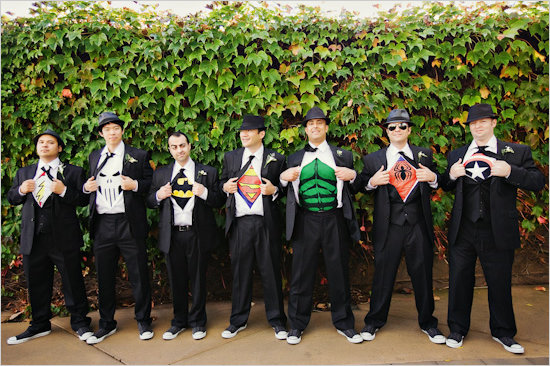 Surprise Groomsmen T-Shirts