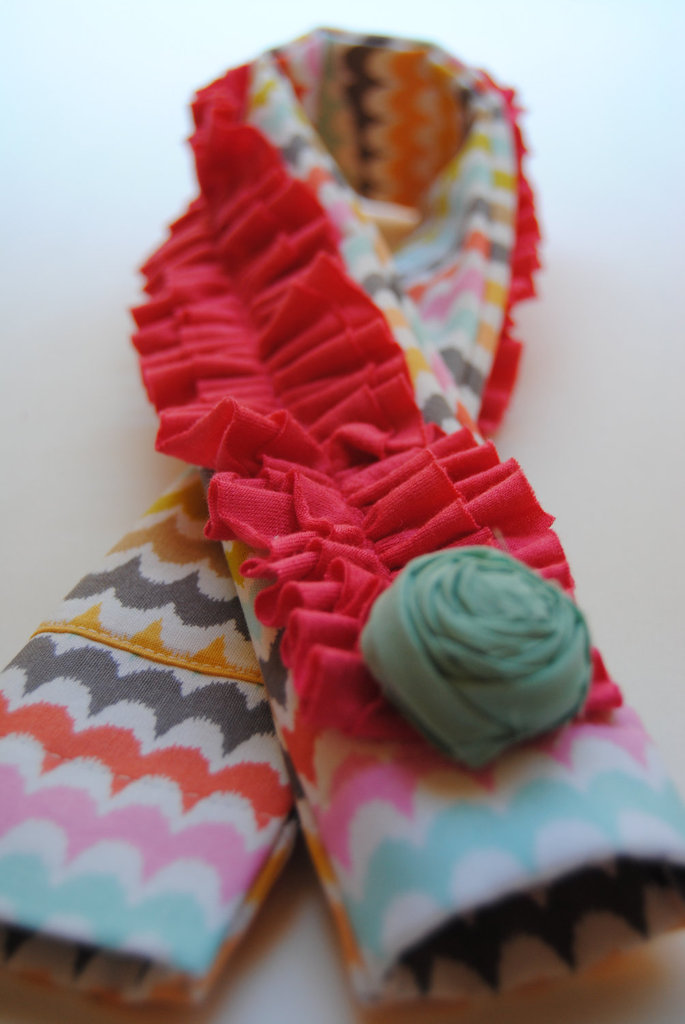 Coral Ruffle Cover ($28)