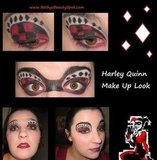 Harley Quinn Inspired Make Up Look