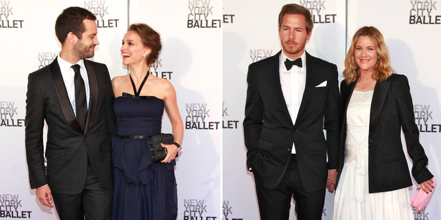 Drew Barrymore and Natalie Portman Have a Double Date Night For the Ballet