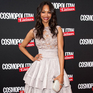 Zoe Saldana Pictures at Cosmopolitan For Latinas Launch