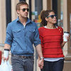 Ryan Gosling and Eva Mendes Holding Hands Pictures