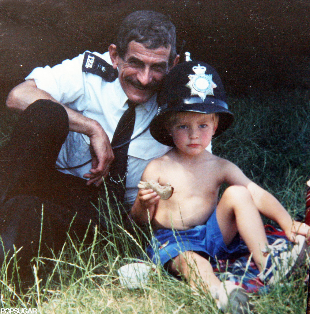 Rob made friends with a policeman as a kid.