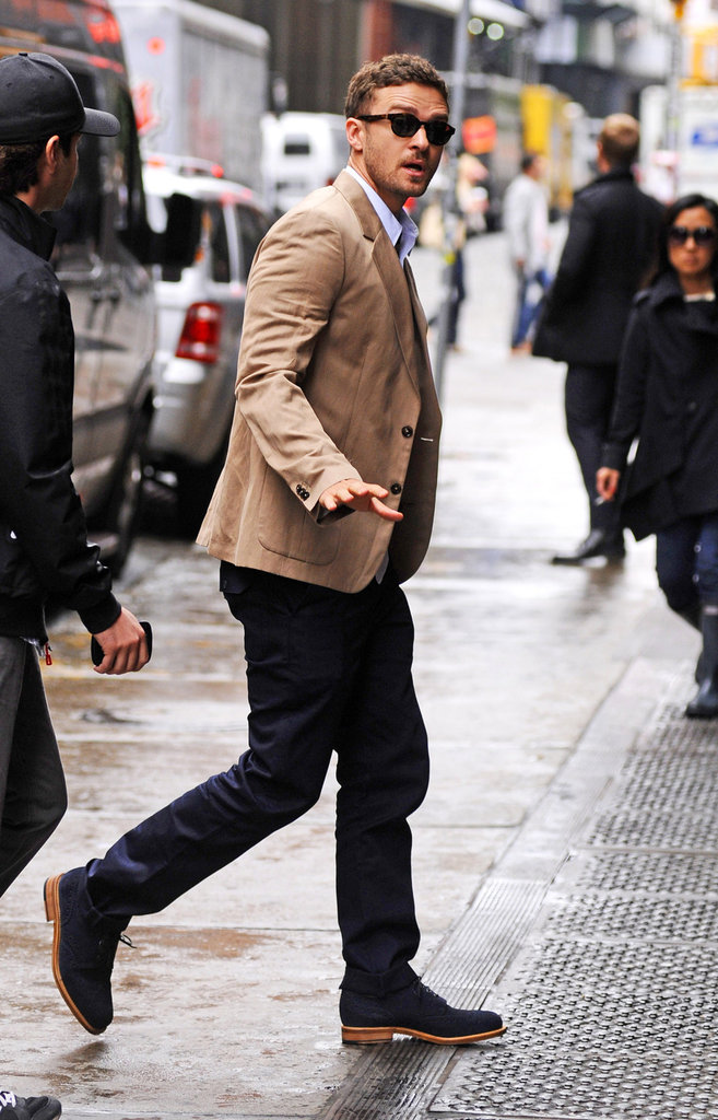 Justin Timberlake was spotted out in NYC.