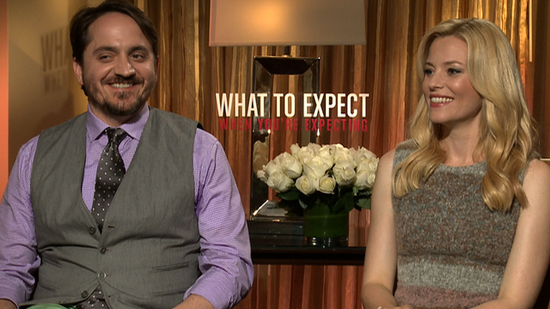Elizabeth Banks and Ben Falcone on New Parent Freakouts, the Extra Who Went Into Labor on Set