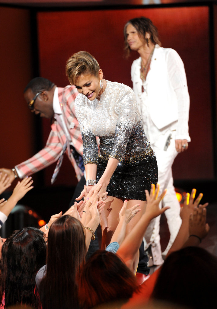 Jennifer Lopez welcomed fans.