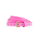 Even adding brightly hued details to your look with a belt like this can totally transform your run-of-the-mill staples.  J.Crew Skinny Leather Belt ($35)