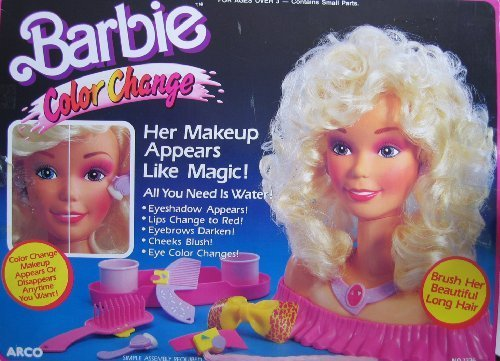 Barbie Color Change Makeup Center
