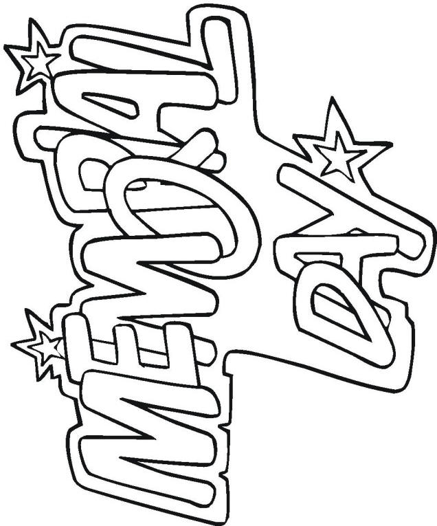 memorial day coloring pages become the perfect choice to print and - Patriotic Coloring Pages Print