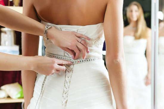 Don't be a bloated bride: Fit's telling you whic