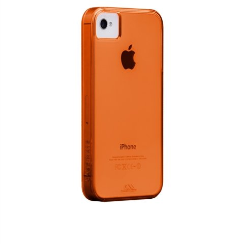 Case-Mate 100% Recycled Plastic Case for iPhone 4/4S in Tangerine Tango Orange ($30)