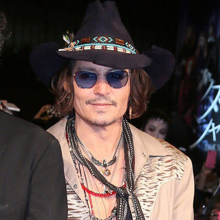 Pictures of Johnny Depp And Tim Burton Arriving In Tokyo For The Dark Shadows Premiere