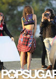 Miranda Kerr Shows Stomach During a Hot Sydney Photo Shoot