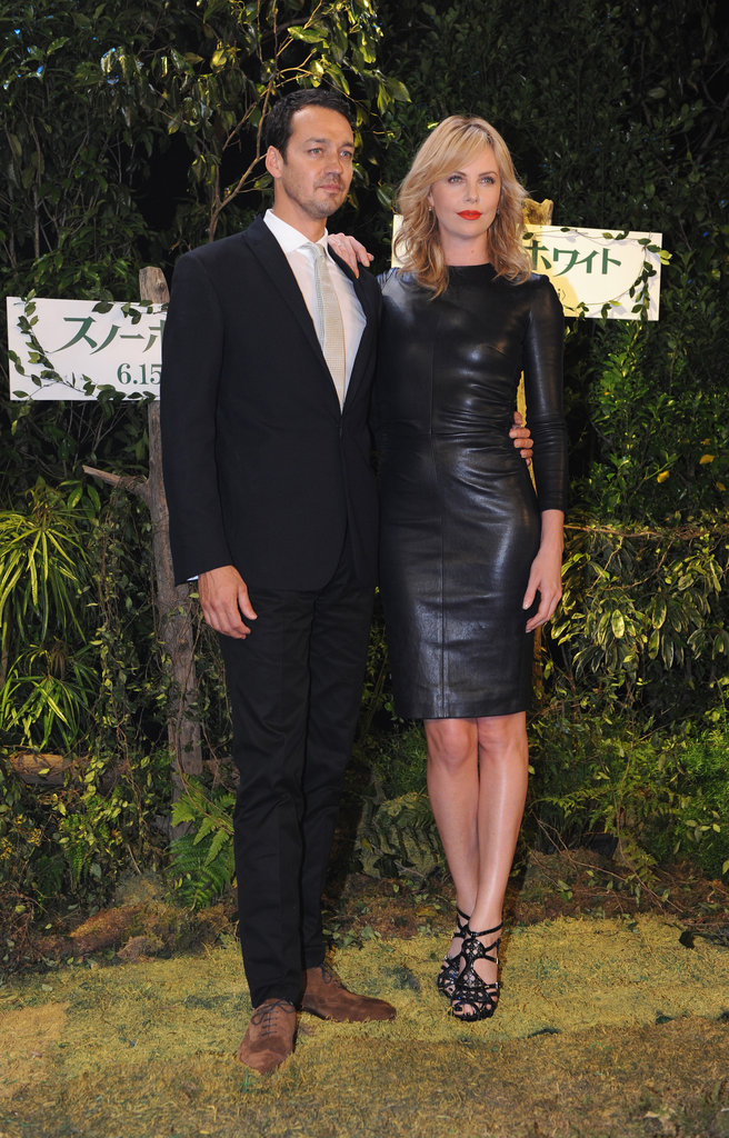 Charlize Theron and director Rupert Sanders took the film to Japan.