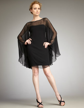 Notte by Marchesa Full-Sleeve Cocktail Dress ($750)