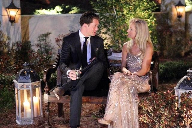 Kalon and Emily Maynard on The Bachelorette.