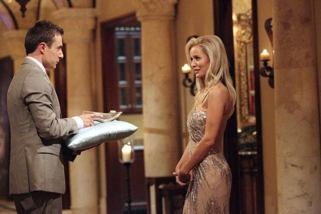 Tony and Emily Maynard on The Bachelorette.