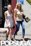 Heather Locklear had lunch with daughter Ava in LA.