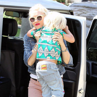 Gwen Stefani Mother's Day Pictures With Her Family