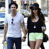 Nina Dobrev and Ian Somerhalder Hand Holding Pictures