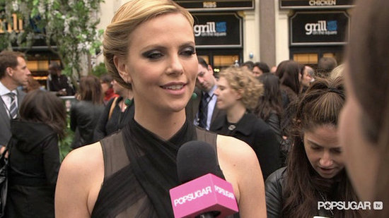 "Video: Charlize Theron Says Sharing SWATH With Fans Is ""A Bit Nerve-Racking"""