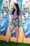 Megan Fox's sexy legs were on display at the 2010 Teen Choice Awards in LA that August.