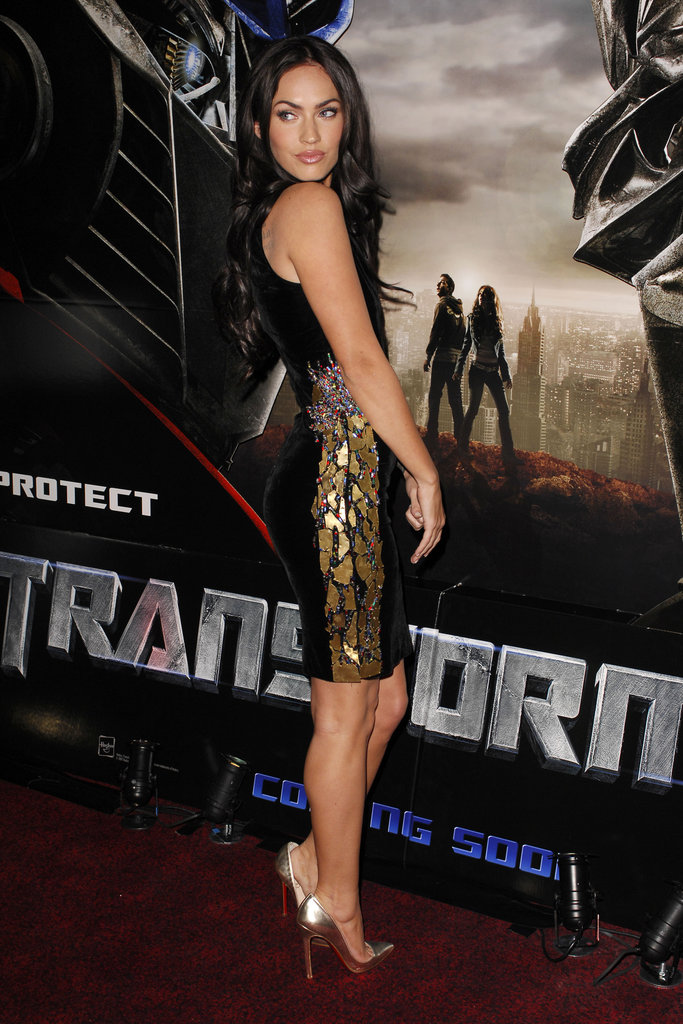 Megan Fox hit the red carpet for a London screening of Transformers in June 2007.