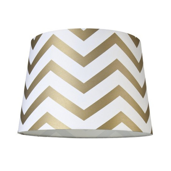We are all about gold details over here! This Chevron Lamp Shade ($20) would add a touch of gilded elegance to any table.