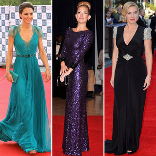 Celebrities in Jenny Packham Dresses