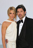 Jillian Dempsey and Patrick Dempsey in 2011