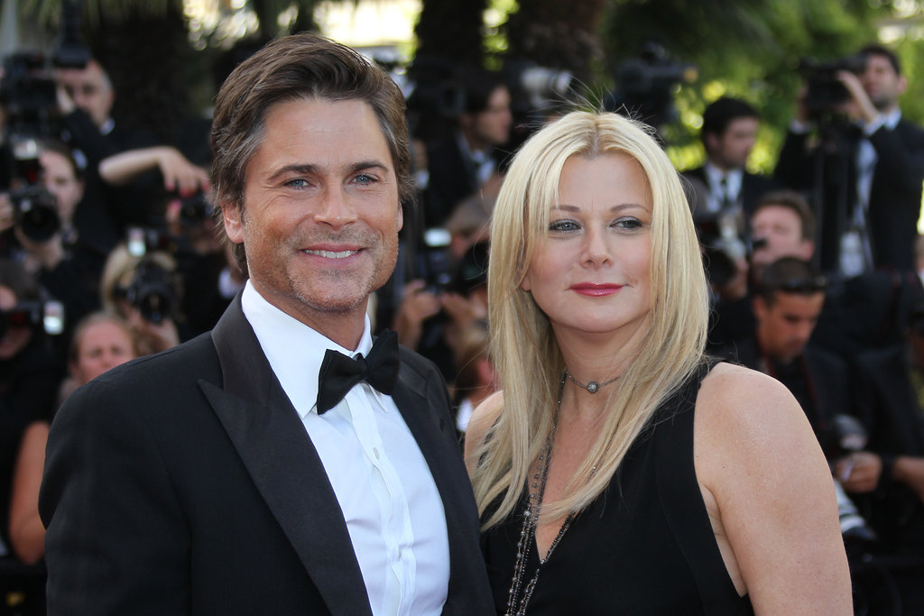 Rob Lowe and Sheryl Lowe in 2011