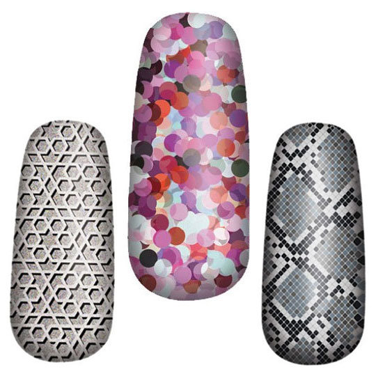 OPI Set to Launch Pure Lacquer Nail Apps Stick-On Designs