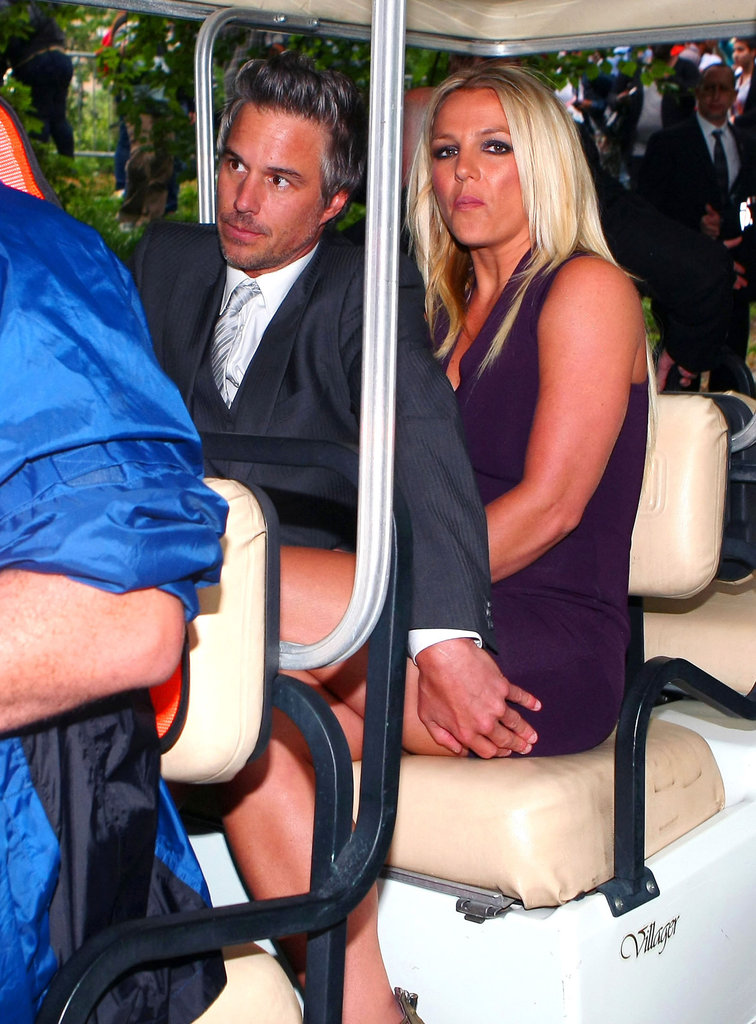 Britney Spears and Jason Trawick made their way to the Fox Upfronts party in NYC together.